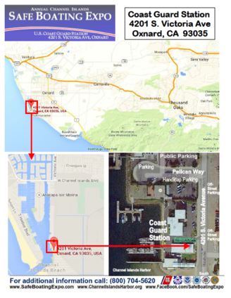 boating, Safe Boating Expo Ventura County, CA Map